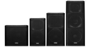 QSC speakers sub