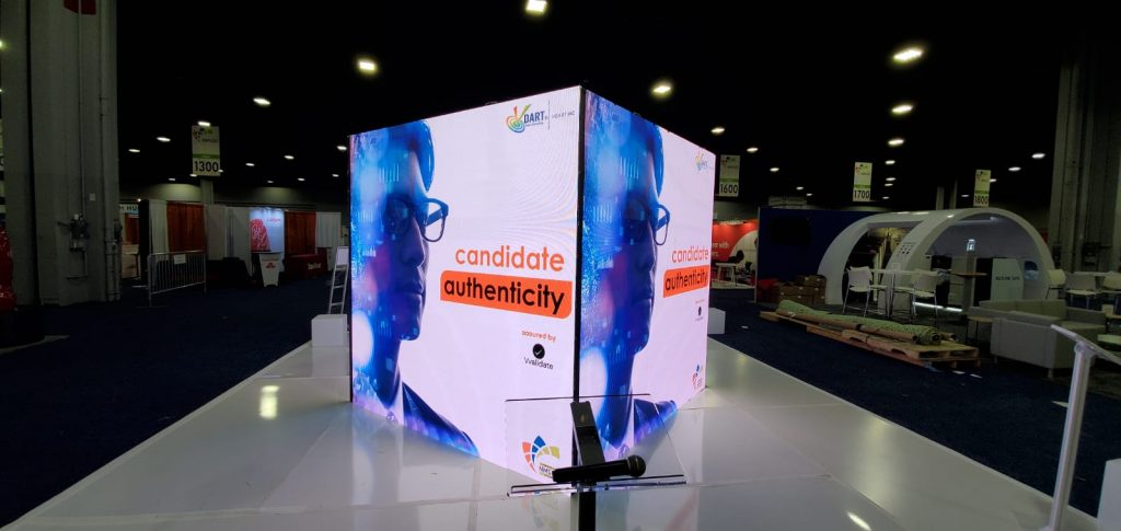 LED Cubes for Trade Shows